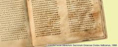 The fourth-century manuscript Vatican 1209