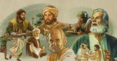 Walo ka manunulat sang Biblia nga nagsulat parte kay Jesus