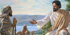 Ježíš Kristus vyučuje