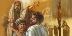 Jesus being slapped