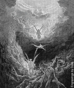 "Engraving of ""The Last Judgement"" by Gustave Doré"