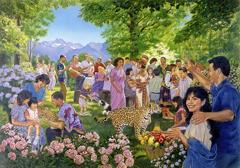 Glada människor I paradiset