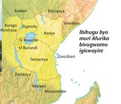 Ikarita y'ibihugu byo muri Afurika bikoresha igiswayire