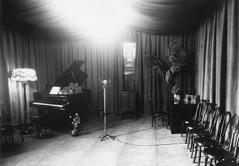 薩斯喀徹温省薩斯卡通市CHUC電台的播音室