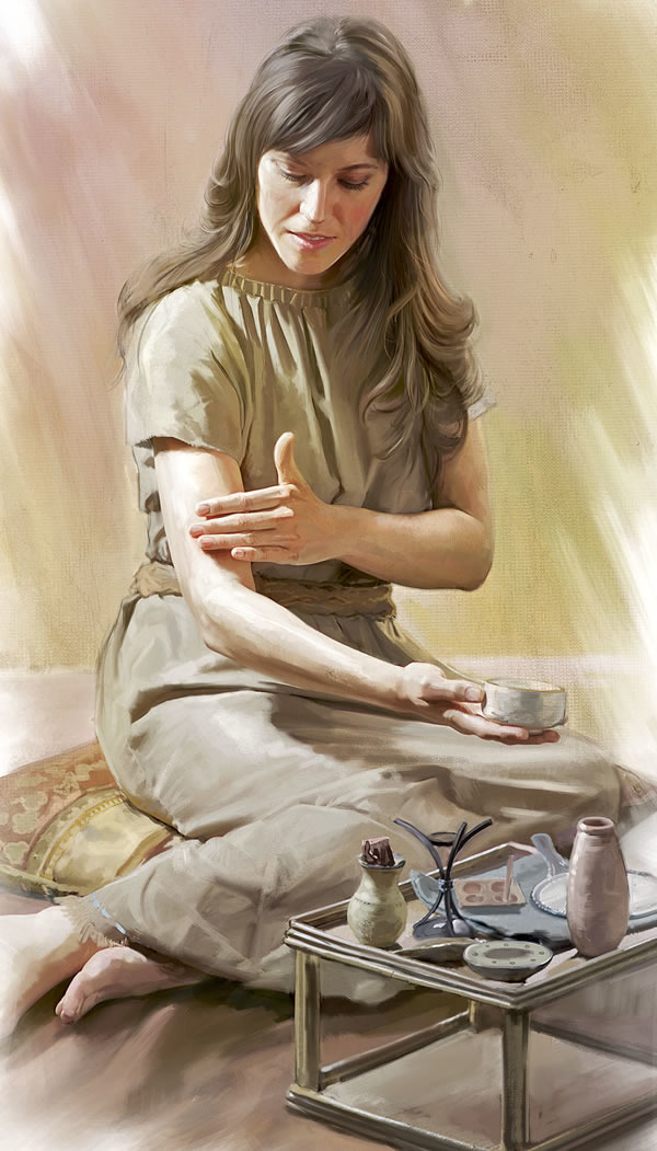 The Use of Cosmetics and Oils in Bible Times