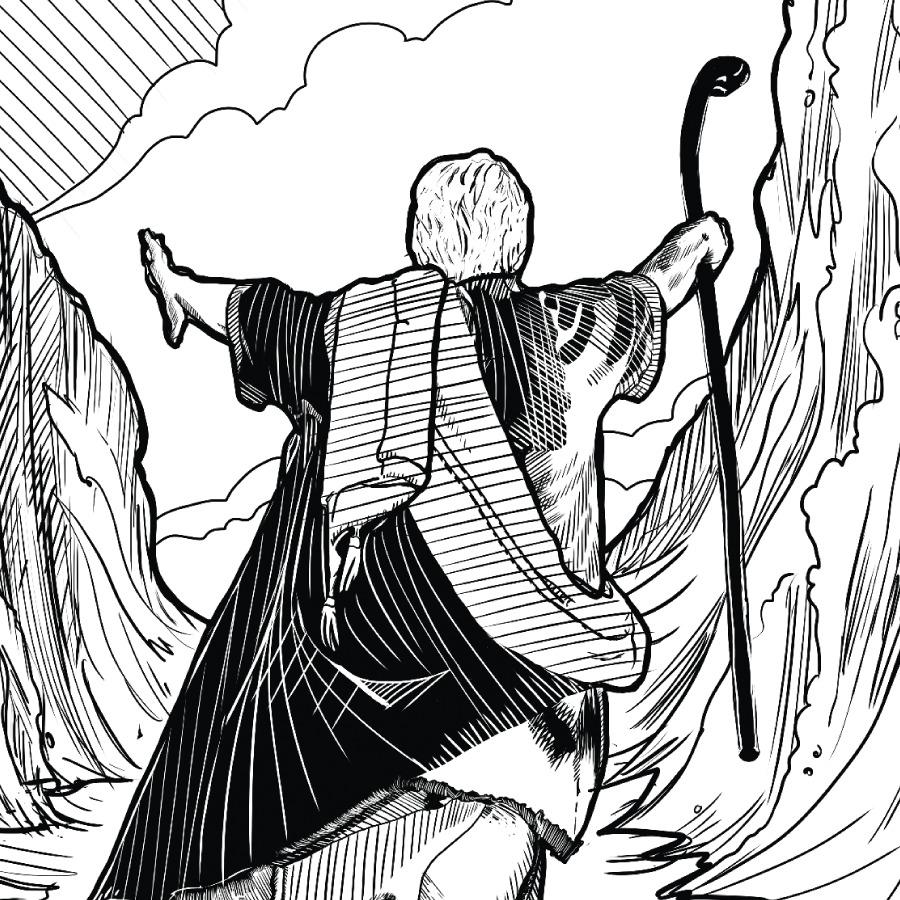 Moisés, un hombre de fe