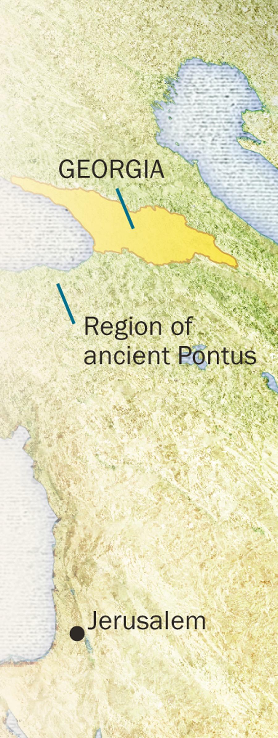 A Georgian Bible: A Treasure Hidden for Centuries