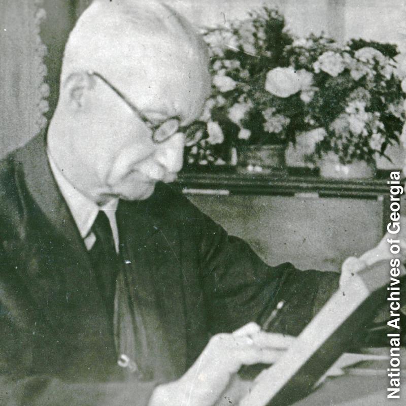Kand georgisk forfattare