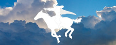 The white horse and its heavenly king rider