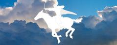 白い馬とその乗り手である天の王