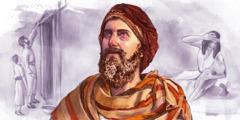 1. Izraelca s krvjo škropita podboj vrat; 2.Mojzes pozorno gleda, kakor da bi videl Nevidnega; 3. Egipčanska mati drži svojega mrtvega sina.
