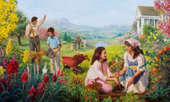 Аллаһын садиг хидмәтчиләри јерүзү Ҹәннәтдә хошбәхт јашајырлар