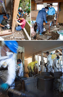 Jehovah's Witnesses providing disaster relief in Japan and Canada