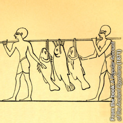 Древни рибари носе рибу