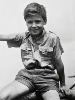 Gerrit Lösch sewaktu masih kecil