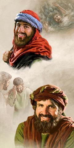1) Иона,2) Петр
