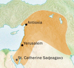 Antioxia kple Yerusalem nuto siwo me wodo Siriak-gbe le ƒe anyigbatata