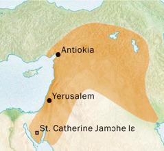 Antiokia kɛ Yerusalem niiaŋ he ni awieɔ Siriak lɛ yɛ lɛ he shikpɔŋ he wolo