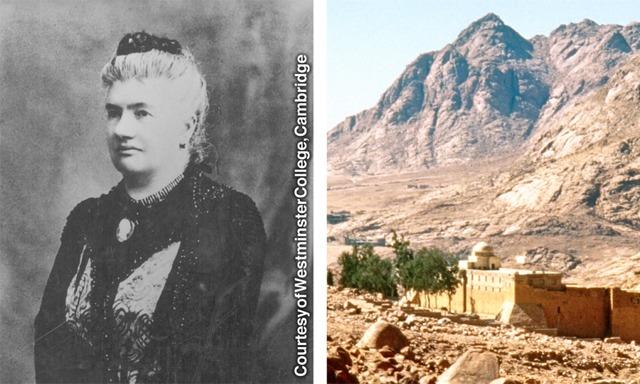 Agnes Smith Lewis e o Mosteiro de Santa Catarina