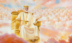 Jezus in maziljeni kristjani vladajo iz nebes.