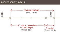 Tijdbalk van de tempelreiniging van 1914 tot 1919