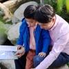 Отец учит сына на примере творений Бога