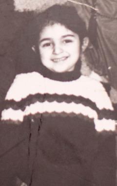 Mayli som lille pige