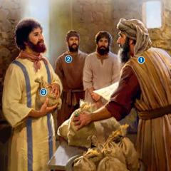 Le maître demandant des comptes aux esclaves