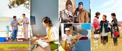 Jehovah's aanbidders nemen deel aan verschillende aspecten van het predikingswerk