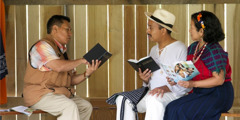 Ett bibelstudium.