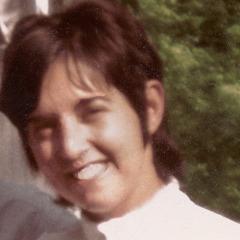 Doris Eldred saat ia muda dan bekerja sebagai guru