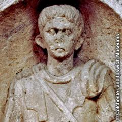 Egy római százados szobra