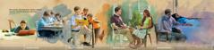 Een jongeman die een hechte band met Jehovah ontwikkelt: 1. Tijdens zijn schooljaren; 2. Door als volletijdprediker te dienen; 3. Als gezinshoofd; 4. Tijdens beproevingen