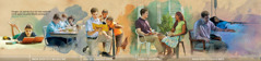 Ọ̀dọ́kùnrin kan ńmú kí àjọṣe òun àti Jèhófà dán mọ́rán:1. Nígbà tó wà níléèwé;2. Bó ṣe ńṣiṣẹ́ alákòókò kíkún;3. Lẹ́yìn tó ṣègbéyàwó;4. Nígbà tó ńkojú àwọn ìṣoro báyìí