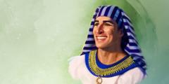 이집트의 권력자가 된 요셉이 여호와께서 어떻게 자신을 사용하고 축복해 오셨는지를 떠올리는 모습