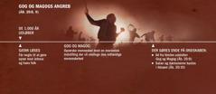 En tidslinje der viser Gog og Magogs angreb efter de 1.000 år