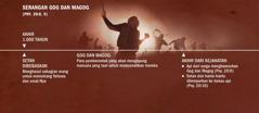 Garis waktu penyerangan Gog dan Magog pada akhir 1.000tahun