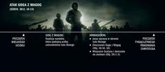 Atak Goga zMagog ukazany na diagramie zaczynającym się od wielkiego ucisku