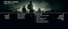 Časová os týkajúca sa útoku Góga zMagógu; začína sa vypuknutím veľkého súženia