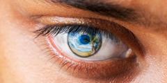 मानिसको आँखामा नयाँ संसारको चित्र