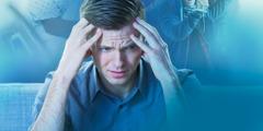 Muž prožívá úzkost