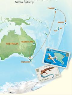 Mapu iikulangilila impanga iya Australia, Tasmania, Tuvalu, Samoa, na Fiji