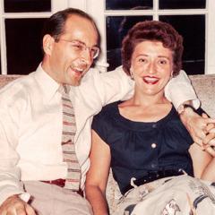 Ted och Melita Jaracz som unga.