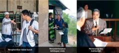 1. Seorang lelaki enggan menerima sebatang rokok; 2. Seorang saudari sedang menginjil di negara asing; 3. Seorang saudara berada di mahkamah