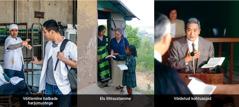 1. Mees keeldub võtmast sigaretti; 2.kristlik õde kuulutab välismaal head sõnumit; 3.kristlik vend kohtusaalis