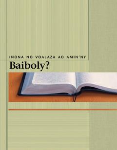 Inona no Voalaza ao Amin'ny Baiboly?