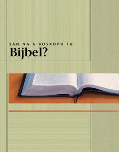 San na a boskopu fu Bijbel?