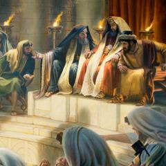 De judiska främsta prästerna.
