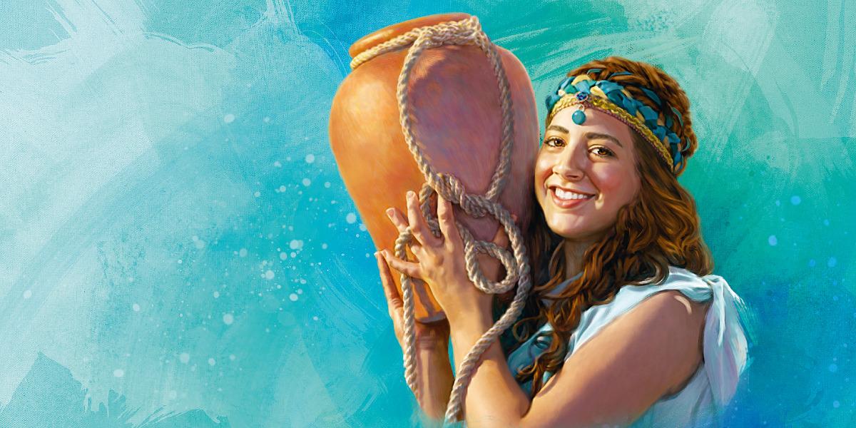 Rebekah in the Bible Had Faith in God (Genesis 24:58)