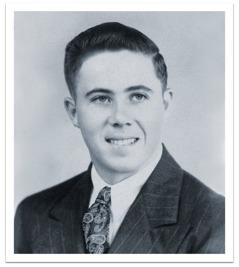Ο Κόργουιν Ρόμπισον σε νεαρή ηλικία
